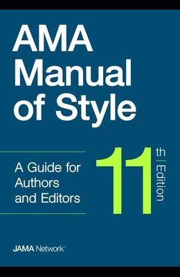 AMA Manual of Style, 11th Edition