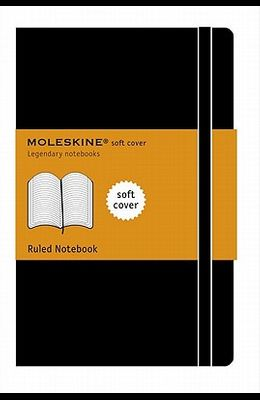 Moleskine Classic Notebook, Extra Large, Ruled, Black, Soft Cover (7.5 X 10)