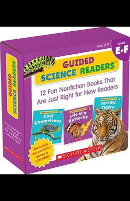 Guided Science Readers: Levels E-F (Parent Pack): 12 Fun Nonfiction Books That Are Just Right for New Readers