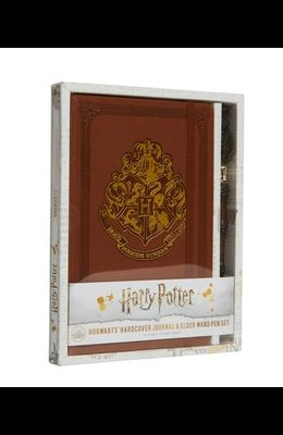 Harry Potter: Hogwarts Hardcover Journal and Elder Wand Pen Set
