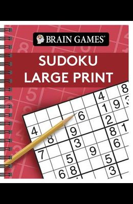 Brain Games Large Print Sudoku