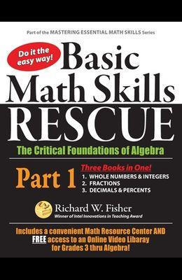 Basic Math Skills Rescue, Part 1: The Critical Foundations of Algebra