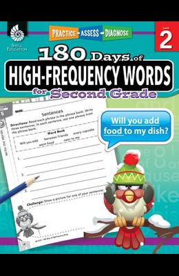 180 Days of High-Frequency Words for Second Grade: Practice, Assess, Diagnose