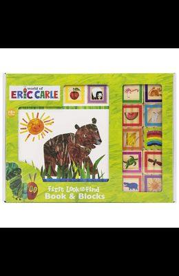 World of Eric Carle: First Look and Find Book & Blocks