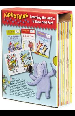 AlphaTales: A Set of 26 Irresistible Animal Storybooks That Build Phonemic Awareness & Teach Each Letter of the Alphabet [With Teacher's Guide]