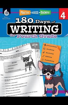 180 Days of Writing for Fourth Grade: Practice, Assess, Diagnose