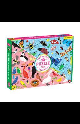 Puz 100 Double Side Bugs & Birds