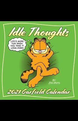 Garfield 2021 Wall Calendar: Idle Thoughts