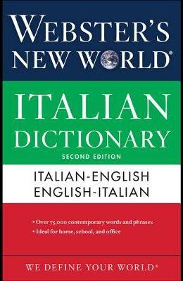 Webster's New World Italian Dictionary