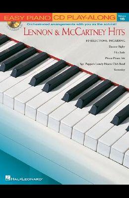 Lennon & McCartney Hits: Easy Piano CD Play-Along Volume 16 [With CD]