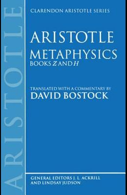Metaphysics: Books Z and H