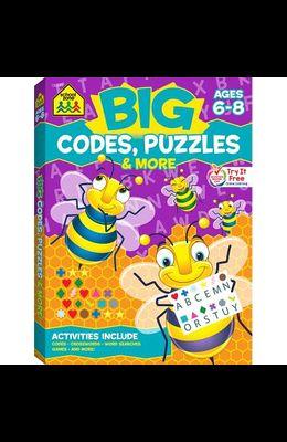 School Zone Big Codes, Puzzles & More Workbook
