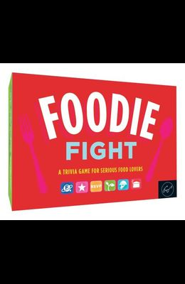 Foodie Fight (Trivia Game for Adults, Family Trivia Games, Gift for Food Lovers): A Trivia Game for Serious Food Lovers (Board Game for Adults Who Lov