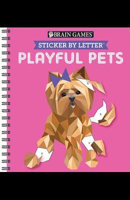 Sticker Puzzles Playful Pets