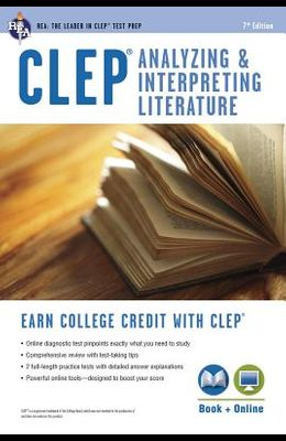 CLEP Analyzing and Interpreting Literature [With Access Code]
