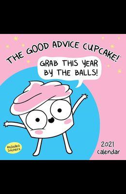 The Good Advice Cupcake 2021 Wall Calendar