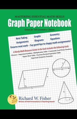 Graph Paper Notebook - Geometry: Great for All Geometry Classes
