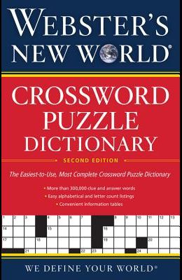 Webster's New World(r) Crossword Puzzle Dictionary, 2nd Ed.