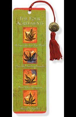 Beaded Bkmk Four Agreements