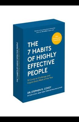 The 7 Habits of Highly Effective People: 30th Anniversary Card Deck (the Official 7 Habits Card Deck)