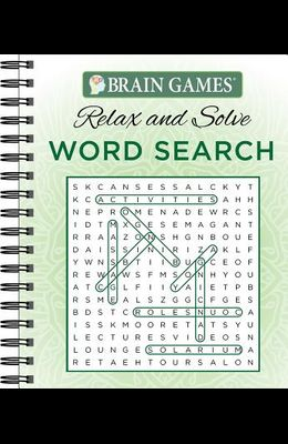 Brain Games - Relax and Solve: Word Search (Green)