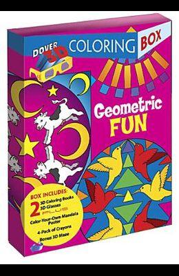 Geometric Fun 3-D Coloring Box