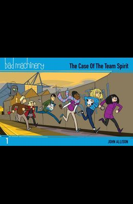 Bad Machinery Vol. 1, 1: The Case of the Team Spirit, Pocket Edition