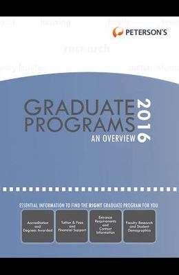 Graduate & Professional Programs: An Overview 2016