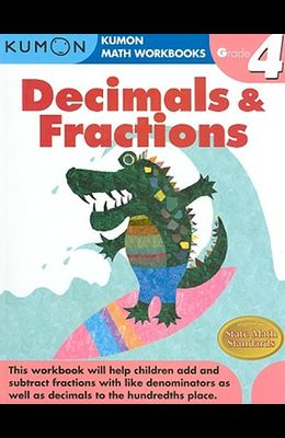 Decimals & Fractions, Grade 4
