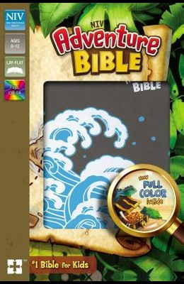 Niv, Adventure Bible, Leathersoft, Gray, Full Color Interior