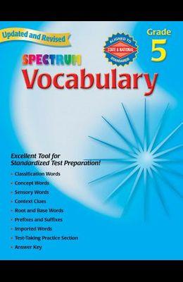 Vocabulary, Grade 5