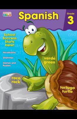 Spanish Workbook, Grade 3