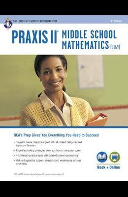 Praxis Middle School Mathematics (5169) Book + Online