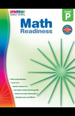 Math Readiness, Grade Pk