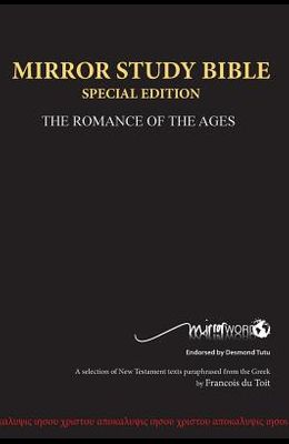 Mirror Study Bible Hard Cover Special Edition 1156 page 10th Edition 7 X 10 Inch, Wide Margin.