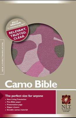 Camo Bible-NLT-Zipper