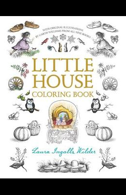 Little House Coloring Book: Coloring Book for Adults and Kids to Share