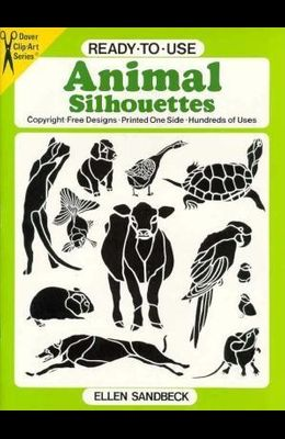 Ready-To-Use Animal Silhouettes