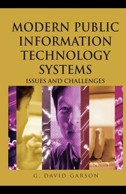 Modern Public Information Technology Systems: Issues and Challenges