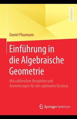 Einführung in Die Algebraische Geometrie: Mit Zahlreichen Beispielen Und Anmerkungen Für Den Optimalen Einstieg