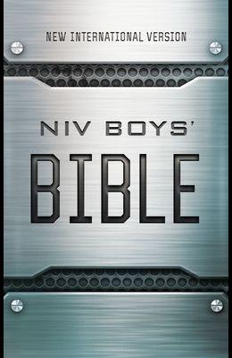 Niv, Boys' Bible, Hardcover, Comfort Print