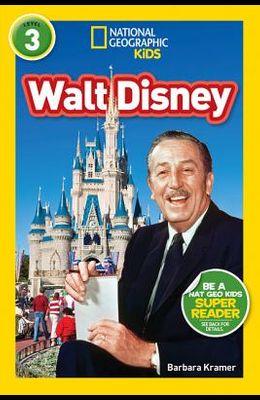 National Geographic Readers: Walt Disney (L3)