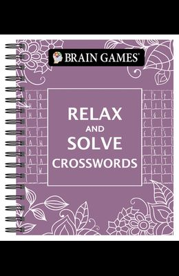 Brain Games - Relax and Solve: Crosswords