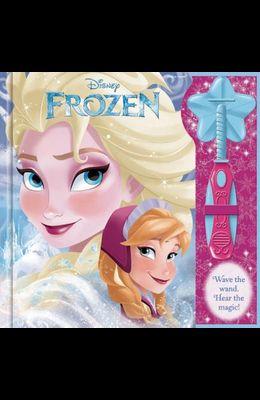 Magic Wand Book Disney Frozen with Foil