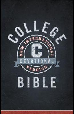 NIV, College Devotional Bible, Hardcover