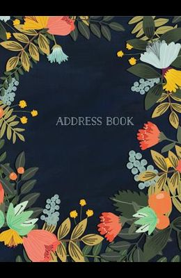 Address Book - Modern Floral Large