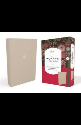 The Nkjv, Woman's Study Bible, Cloth Over Board, Cream, Full-Color: Receiving God's Truth for Balance, Hope, and Transformation