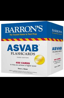 Barron's ASVAB Flashcards