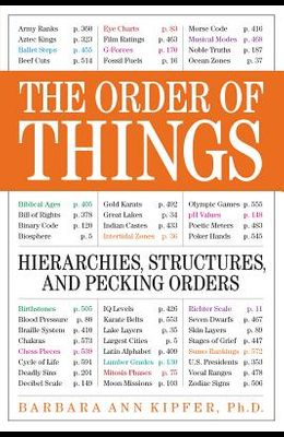 The Order of Things: Hierarchies, Structures, and Pecking Orders