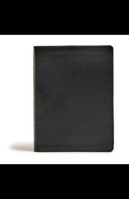 CSB Tony Evans Study Bible, Black Genuine Leather